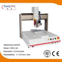 Wholesale 3 Axis Single Working Automatic Dispensing Machine Optional Dispensing Path from china suppliers