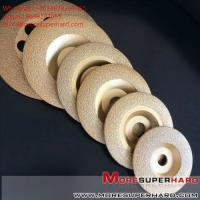 China Vacuum brazing diamond abrasive disc  Alisa@moresuperhard.com on sale