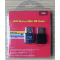 Wholesale Desktop / Laptop USB Wireless Network Adapter Windows , Linux , Mac , Android Compatible from china suppliers
