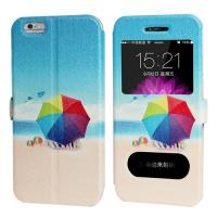 Wholesale Cartoon Printing  iphone 6 and Plus Iphone Leather Case for Girl with Stand from china suppliers