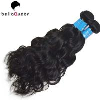 Natural Black Water Wave 100% Brazilian Human Hair Bundles For Hair Extension