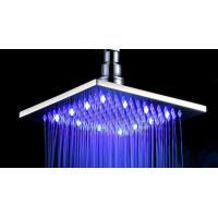 Wholesale LED Contemporary Rain Shower Head / Ceiling Mount Rainfall Shower Head from china suppliers