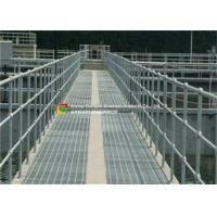 Wholesale Heavy Duty Garage Floor Steel Grate , Metal Grid Flooring For Offshore from china suppliers