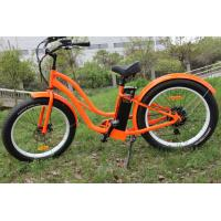 China ZOOM Alloy / suspension fat tire Women Mountain Bike Samsung lithium battery operated bicycle on sale