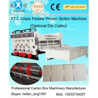 Wholesale Automatic Corrugated Cardboard Paper Box Making Machine / Carton Production Line from china suppliers
