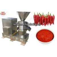 China Nut Butter Grinding Machine With Colloid Mill|Chili Sauce Making Machine With Colloid Mill on sale