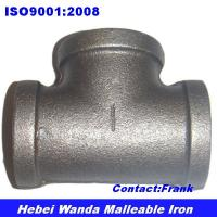 Wholesale Black malleable iron pipe fitting Tee from china suppliers