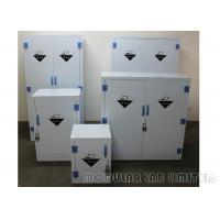 China 8 10mm Thickness Chemical Storage Cabinets Polypropylene Hinges For Long Life on sale