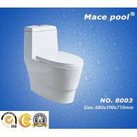 Wholesale Super Siphonic Ceramic Wc One-Piece Toilet for Bathroom Accessories  (8003) from china suppliers
