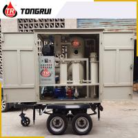 Wholesale Double Stage Vacuum Used Transformer Oil Purification Machine ZJA With Trailer from china suppliers