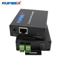 Wholesale NF-1802 IP Ethernet Over 2 Wire cable Extender IP twisted pair extender RJ45 to BNC converter from china suppliers