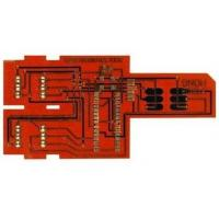 China Custom Flexible printed circuit board Chemical Tin Surface Finish with FR4 Stiffener on sale