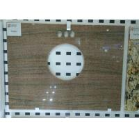Wholesale Custom Prefab Vanity Tops With Oval Hole , Granite Bathroom Vanity Tops from china suppliers