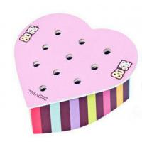 Wholesale Recyclable Cardboard PDQ Display Counter Top For Candy With Heart Shaped , Light Weight from china suppliers