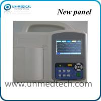 Wholesale UN-medical three channels ECG machine with touch screen, human/veterinary available from china suppliers