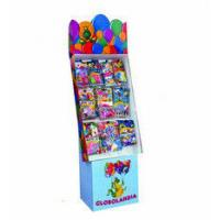 Wholesale Retail 4c Printing Peg POP Cardboard Displays Stands With Hook For Balloon from china suppliers