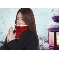 Wholesale DC5V Battery Operated Heated Scarf With Power Bank Button Design Removable from china suppliers