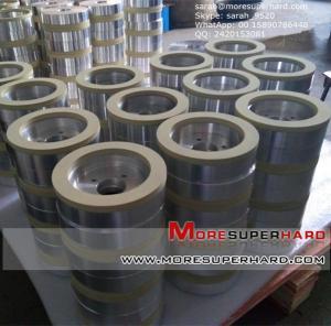 China vitrified bond wheel for 55 steel CBN wheel  sarah@moresuperhard.com on sale