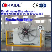 China KAIDE HDPE Poly pipe coiler/ Plastic Pipe Winding Machine/Poly Pipe Winder For Sale
