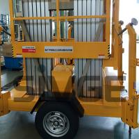 Wholesale Aluminium Alloy Trailer Mounted Aerial Work Lift Platform With 8m Platform Height from china suppliers