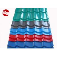 China 0.12*1250mm Pre Painted Roofing Sheets DX51D Grade Industrial Roofing Sheets on sale