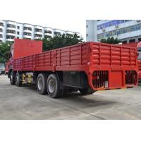 Buy cheap Diesel Fuel Transportation Cargo Truck 30-60 Tons 8X4 LHD Euro2 336HP from Wholesalers