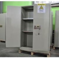 Wholesale Grey Hazardous Storage Cabinets , Dangerous Goods Storage Cabinets For Chemicals from china suppliers