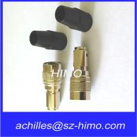 Push pull self-locking 12 pin circular connector for audio and video equipment