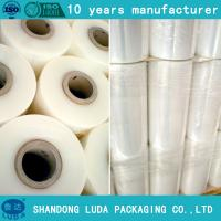 Wholesale LLDPE stretch film pallet wrap plastic packaging film hand roll stretch film from china suppliers