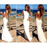 Classic explosion models in Europe and America sexy party dress bandage dress sexy white jumpsuit KF