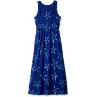 Wholesale Blue Starfish Printing Little Girl Summer Dresses Kids Sleeveless Dress Round Neck from china suppliers