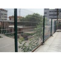 Wholesale White Color Triangle Bending Wire Mesh For Garden Fence and Courtyard from china suppliers