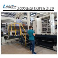 Wholesale PLC Controlled PE Waterproof Geomembrane Sheet Extrusion Line Heavy Structure from china suppliers