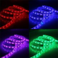 Wholesale High luminous anti - moisture CE waterproof SMD 5050 dmx rgb led strip light with remote control from china suppliers