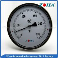 Wholesale - 60~600°C Bimetallic Stemmed Thermometer , High Temperature Gauge Thermometer from china suppliers