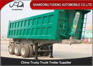 Wholesale Mechanical Suspension 3 Axles 25 Cubic Meters Dump Trailer from china suppliers