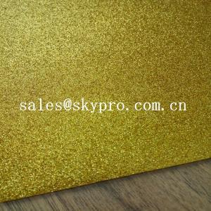 Wholesale Shiny Glitter EVA Foam Sheet 2mm Colorful Glitter Thickness Light Foam Sheets from china suppliers