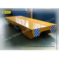 Wholesale Handling system for Manufacturing Industry Rail Transfer Cart , yellow from china suppliers