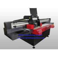 Wholesale Professional Flatbed 3D UV Inkjet Printer , Wide Format Inkjet Printer With Varnish Printing from china suppliers