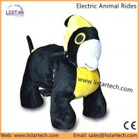 Coin Operated Walking Ride For Mall 4 Wheels Animal Bike, Toy Riding Animal for Sales