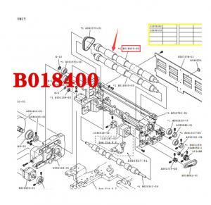 Wholesale NORITSU QSS32/37 minilab EXPOSURE ADVANCE ROLLER B018400-00 / B018400 from china suppliers