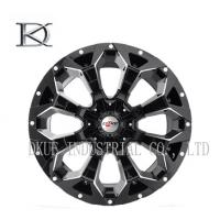 Concave Forged Black Wheels 4X4 17 Inch Rims 4 X 4 Alloy Wheels For SUV