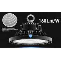 Wholesale 3 In 1 Dimmable UFO High Bay Warehouse Lighting Fixture With Black Color Shell from china suppliers