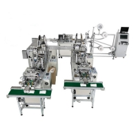 Wholesale Computerized PP Medical Nonwoven Face Mask Machine from china suppliers