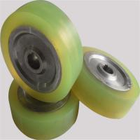 Buy cheap Customized Metal Core Polyurethane Wheels , Pu Roller High Tensile Strength from wholesalers