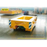 Wholesale Railway Wagon Material Transfer Cart 2 Axle Trailing Cable Powered Source from china suppliers