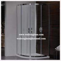 Wholesale Competitive Simple Frameless Shower Enclosure\ Shower Cabin from china suppliers