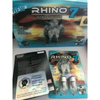 Wholesale Rhino 7 Platinum 75000 Mg Male Libido Capsule / Sexual Enhancer Pills from china suppliers