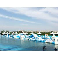 China Durable PVC Tarpaulin Floating Inflatable Water Park Commercial For Resort on sale