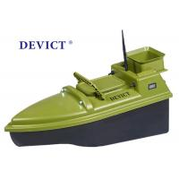 Wholesale Green  RC Fishing Bait Boat DEVC-104 7.4V / 6A lithium battery AC110-240V from china suppliers